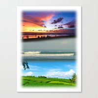 bali Canvas Prints featuring Bali by Larry Rud