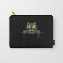 Creepy Pocket Cat Carry-All Pouch