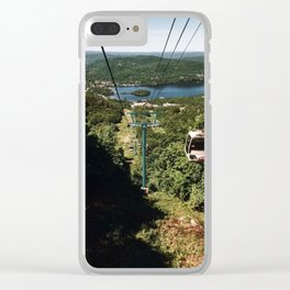 Gondola at Tremblant Clear iPhone Case