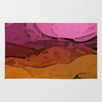 sunrise Area & Throw Rugs featuring Sunrise by Paul Kimble
