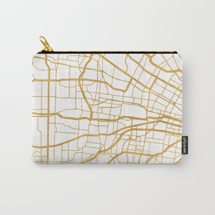ST. LOUIS MISSOURI CITY STREET MAP ART Carry-All Pouch