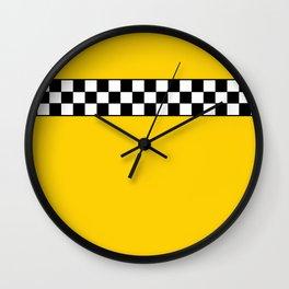 NY Taxi Cab Cosplay Wall Clock