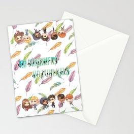 No Mourners Stationery Cards
