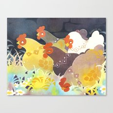 Fluffy Gang Canvas Print