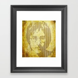 There is a MAGI in Imagine Framed Art Print