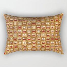 Hipsters Rectangular Pillow