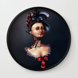 Tattooed Duchess Wall Clock