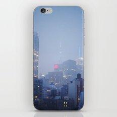 Manhattan at Dusk iPhone & iPod Skin