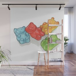 Candies & Sweets: Gummi Bears Wall Mural