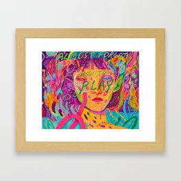 don't forget Framed Art Print