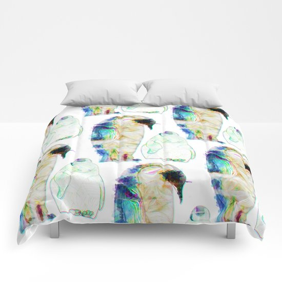 Remix Emperor Penguins Comforters