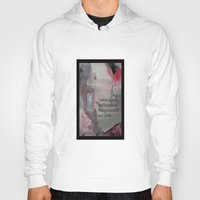 religious Hoodies featuring The Door----Religious Abstract Art --- John 10:9 --- by Saribelle Rodriguez by Saribelle Inspirational Art