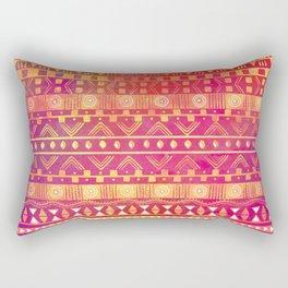 Inspired Aztec Pattern Rectangular Pillow