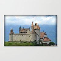 switzerland Canvas Prints featuring Switzerland by Photography by RH