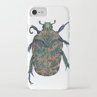 beetle iPhone & iPod Cases featuring Beetle by MSRomeiro