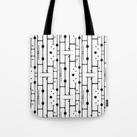 birch Tote Bags featuring Birch by Cosmos Creative