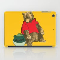 pooh iPad Cases featuring Pooh! by Pieterjan Arends