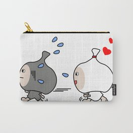 Garbage Bag Couple - Love Chase Carry-All Pouch
