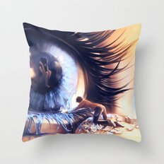 Show me love Throw Pillow