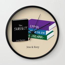 Jess & Rory Wall Clock