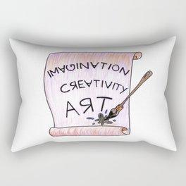 Immagination Creativity Art Artist Gifts Rectangular Pillow