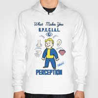 fallout 3 Hoodies featuring PerceptionS.P.E.C.I.A.L. Fallout 4 by sgrunfo