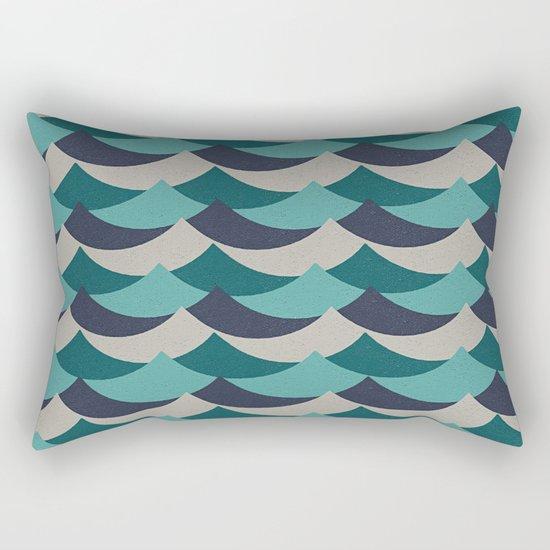 Waves Of Fun Rectangular Pillow