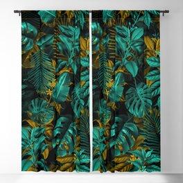 TROPICAL GARDEN VII Blackout Curtain