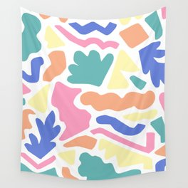 Playful Puzzle Wall Tapestry