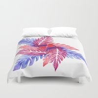 plants Duvet Covers featuring Plants by melanie johnsson