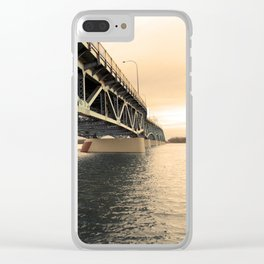 Low Suspension Clear iPhone Case