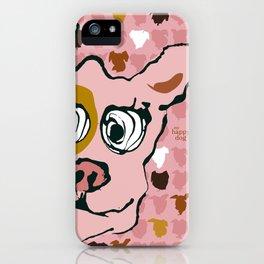 Bandit - pink pattern iPhone Case