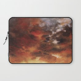 Windmill and the Sunset Sky Laptop Sleeve