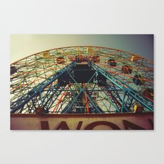 Going Through The Motions Canvas Print
