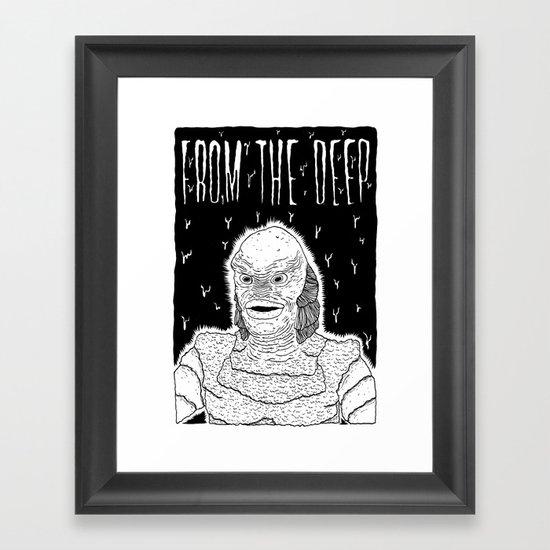 From the Deep Framed Art Print