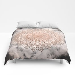 ROSE NIGHT MANDALA Comforters