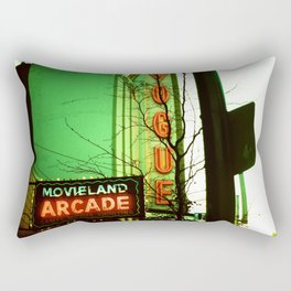Movieland Arcade, Vancouver Rectangular Pillow