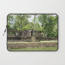 Pool & Structure of Baphuon Temple II, Angkor Thom, Siem Reap, Cambodia Laptop Sleeve