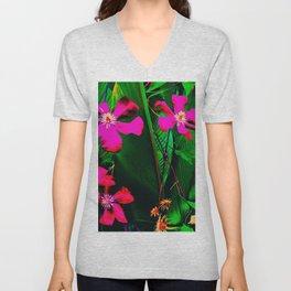 Florida Garden in Bloom Unisex V-Neck
