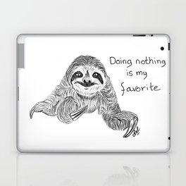 Doing nothing is my favorite Laptop & iPad Skin