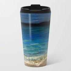 The beach Metal Travel Mug