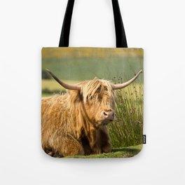 Handlebar Horns Tote Bag
