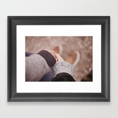 Me in you Framed Art Print