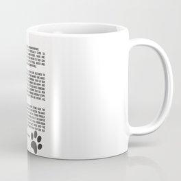 Rainbow Bridge Poem #inspirational #pet #love Coffee Mug