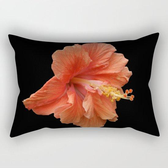 Double Orange Hibiscus DPG160419 Rectangular Pillow