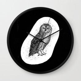 Philipp Martins Owl Wall Clock