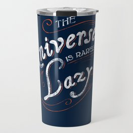 What do we say about coincidence? Travel Mug
