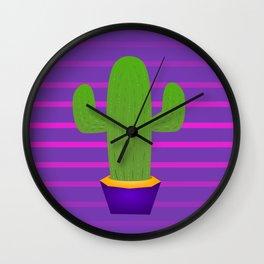 Prickly 80s Wall Clock