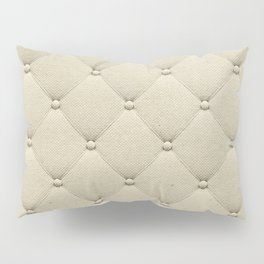 Cream Quilted Pillow Sham
