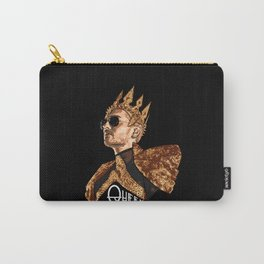 Queen Bill - White Text Carry-All Pouch